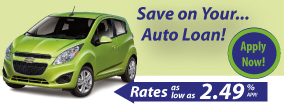Apply Now for your Auto Loan!